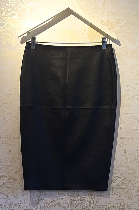 Malene Birger 'Floridia' Leather Pencil Skirt