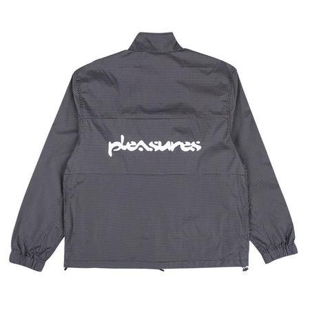 PLEASURES Brick Tech Track Jacket - Black