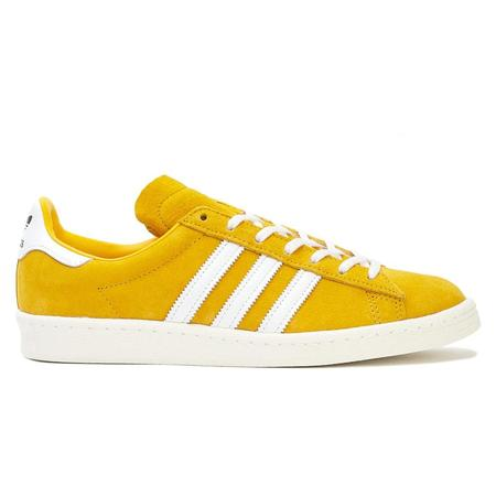 Adidas Campus 80s Sneaker - Bold Gold/Cloud White