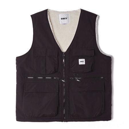 Obey External Vest - Black