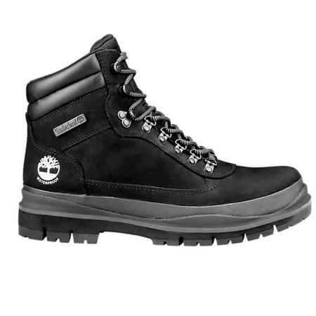 Timberland Field Trekker Waterproof Boots - BLACK NUBUCK