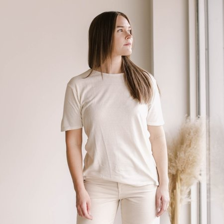 Ozma Oversized Tee - Natural