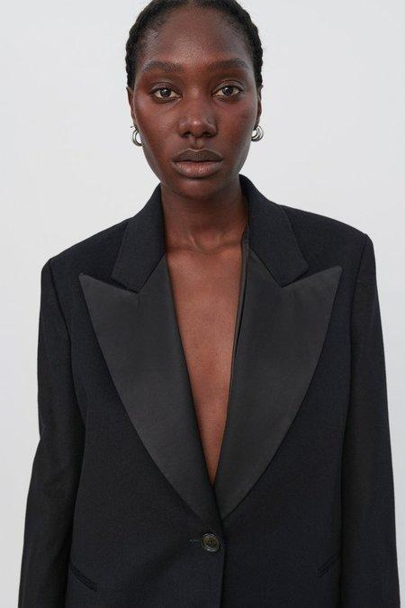 Our Legacy Bulk Tuxedo Blazer - Black Melton