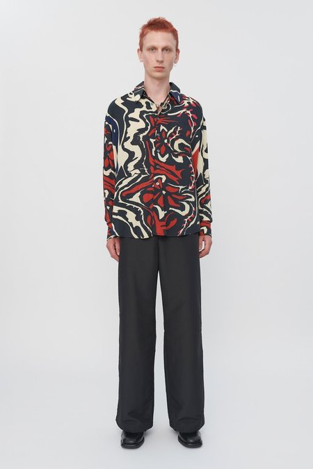 Our Legacy Coco Shirt - Psychedelic Flower Print