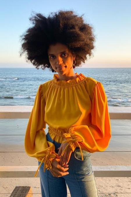 Lisa Says Gah Romi Top - Marigold