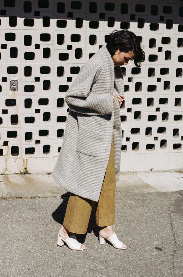 Horses Atelier Long Patch Pocket Jacket - Italian grey