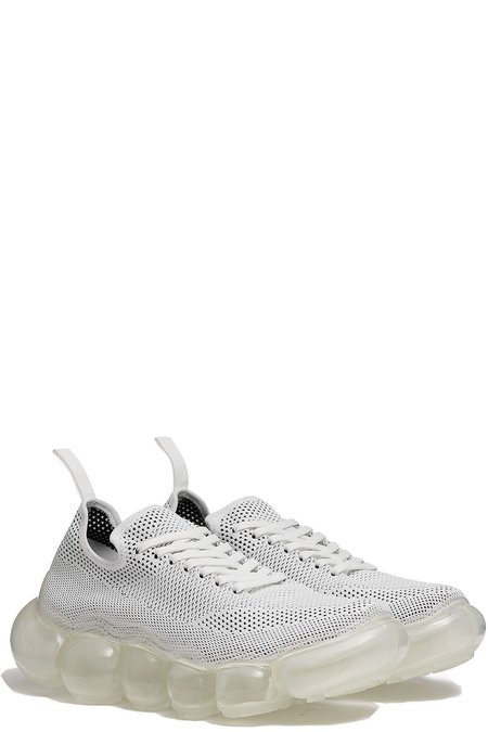 grounds Jewelry Sneakers - White Clear