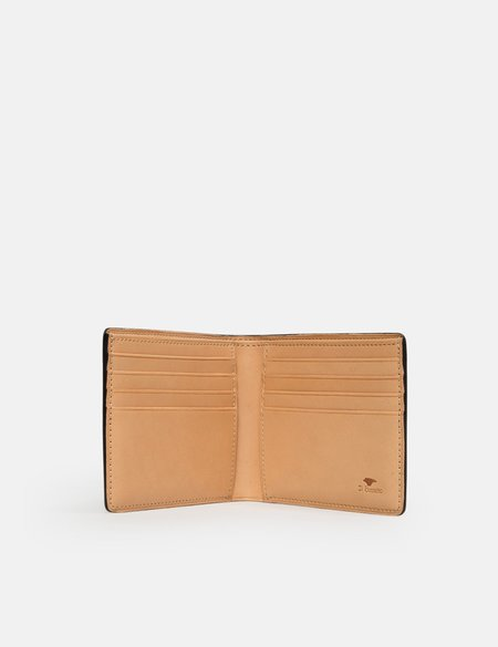 Il Bussetto Leather Bi-Fold Wallet - Evergreen