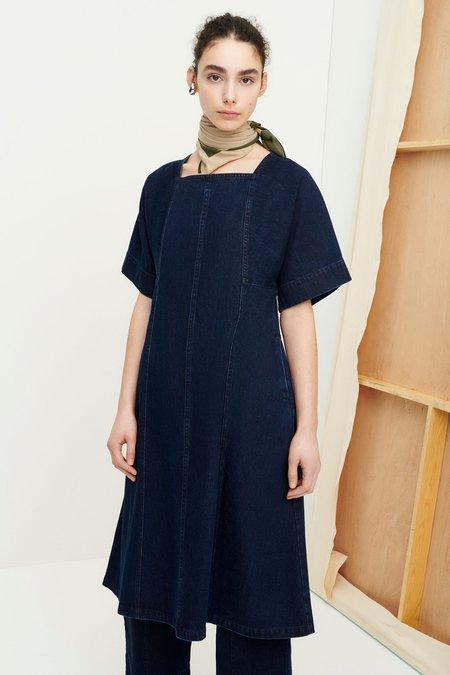 Kowtow Iris Dress - Indigo Denim