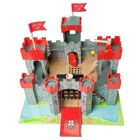 kids le toy van lionheart castle