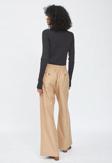 HIDDEN FOREST MARKET Linen Wide Pants