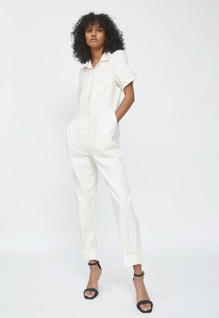 Paloma Wool Ada Jumpsuit - Off White