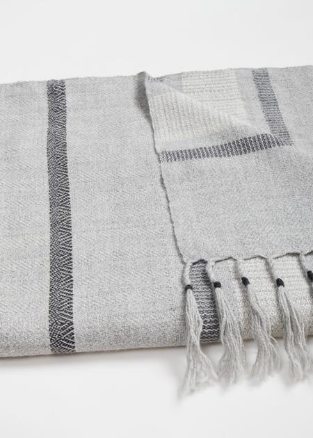 AMA Connection Puno blanket - grey