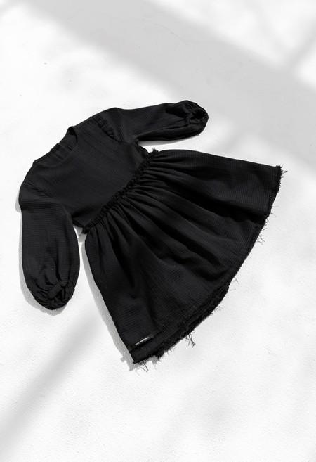 KIDS LITTLE CREATIVE FACTORY VERSE DRESS - BLACK