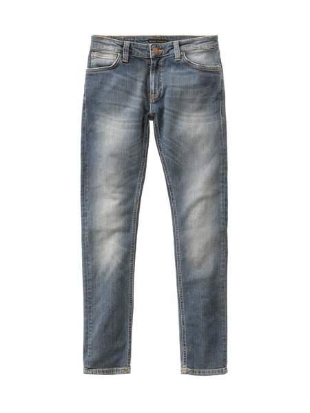 Nudie Jeans Skinny Lin Shimmering Power Jean - Light Denim