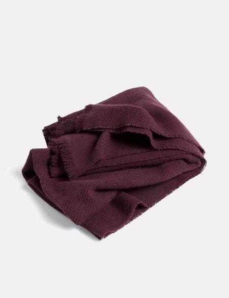 Hay Mono Blanket - Burgundy