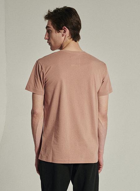 Delikatessen Organic Cotton Short Sleeve T-Shirt - Powder Pink