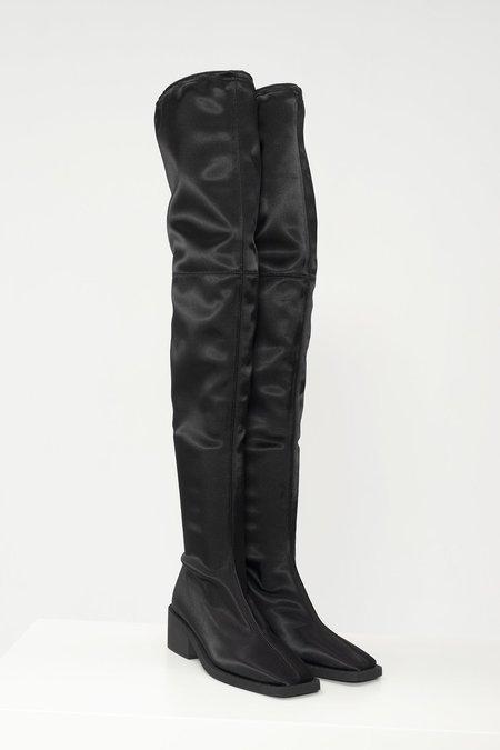 Mm6 Maison Margiela Thigh High Boots - Black