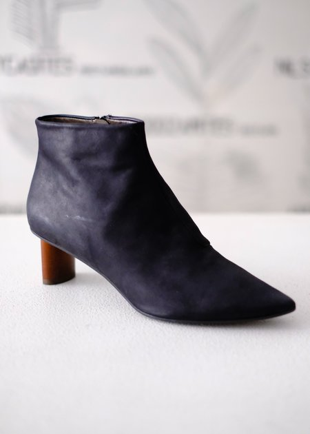 Coclico Whoop Ankle Boot - Ringo Black/Chestnut Heel
