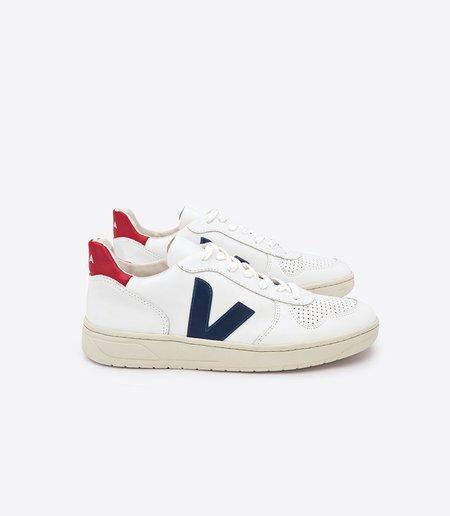 VEJA V-10 Extra Nautico Pekin Sneakers - White
