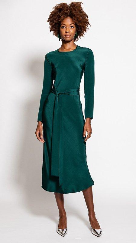 Rachel Comey Saranac Dress - Forest Green