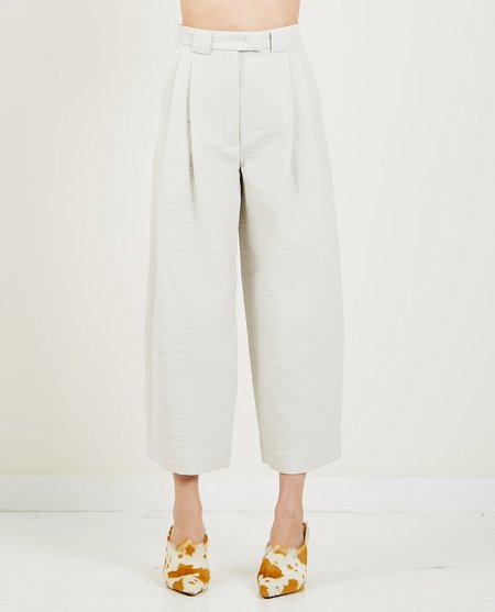 Rachel Comey Cropped Divide Pant - Off White