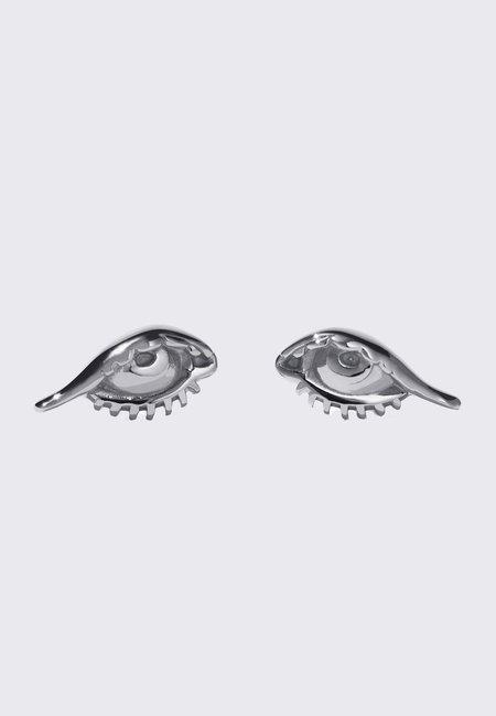 Meadowlark Protéger Stud Earrings - silver