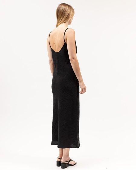 Dominique Healy Midi Bias dress - Black