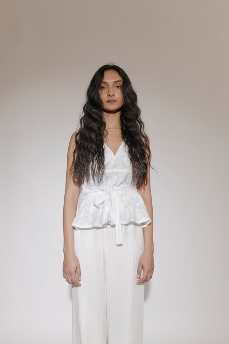 BEFORE MARCH Olivia blouse - White