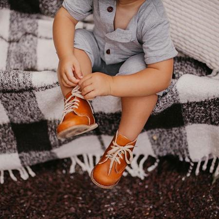 kids Zimmerman Shoes Baby And Child Milo Boots - Warm Brown