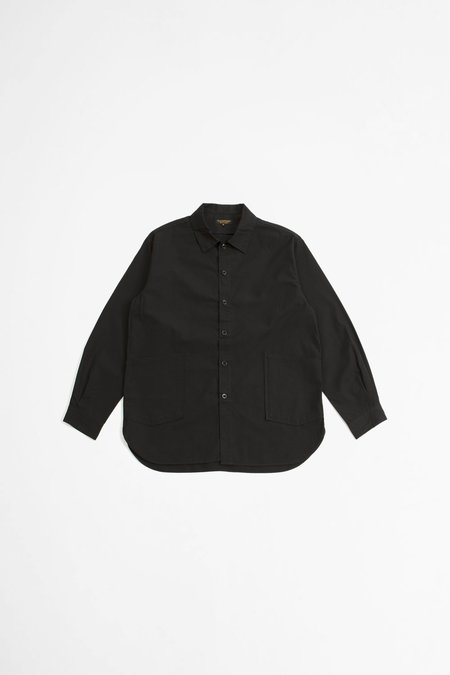 A Vontade Gardener Shirt Jacket - Black