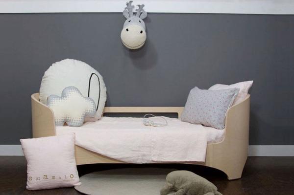 Anne-Claire Petit Reindeer Grey Trophy Head - Dodo Les Bobos