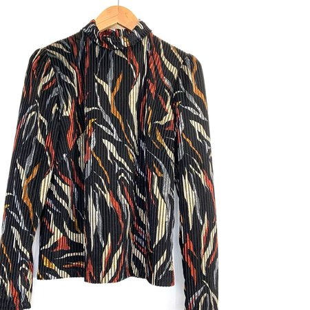 Marigold Nelly Blouse - Red Print