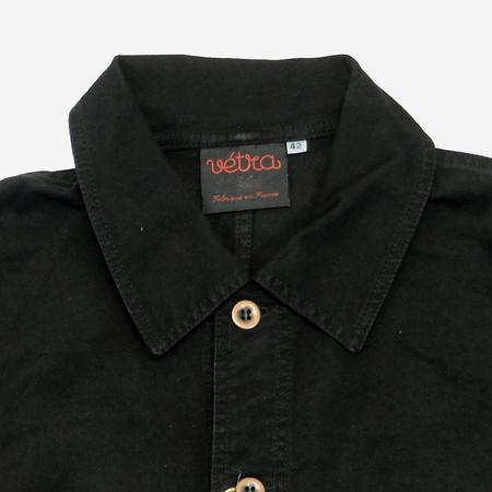 Vetra Workwear Chore Broken Twill Jacket - Black