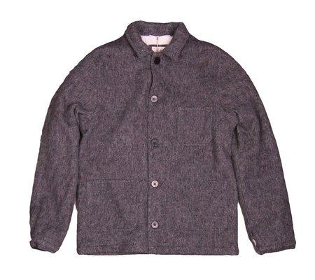 La Paz Baptista Mesc Wool Chore Coat - Grey