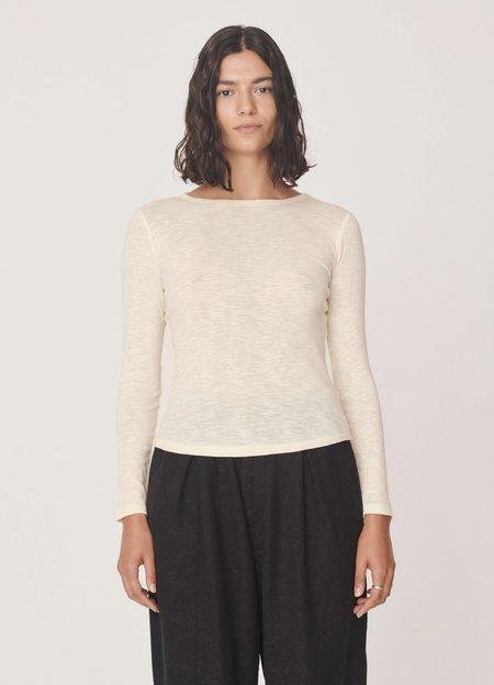 YMC Charlotte T-Shirt - Ecru