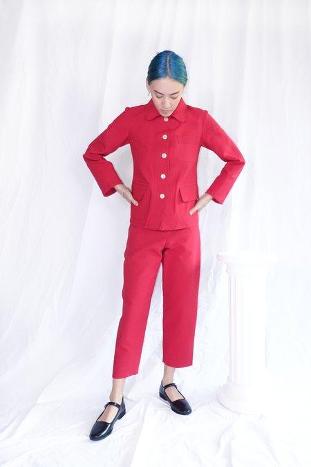 Caron Callahan Omni Pant - Crimson