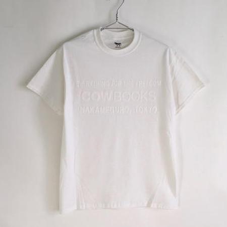COW BOOKS Book Vendor T-Shirt - White