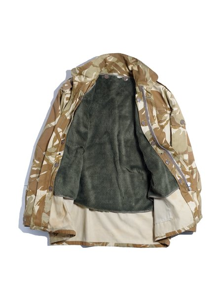 Vintage British Army Camo Field Inner Liner Jacket - Army
