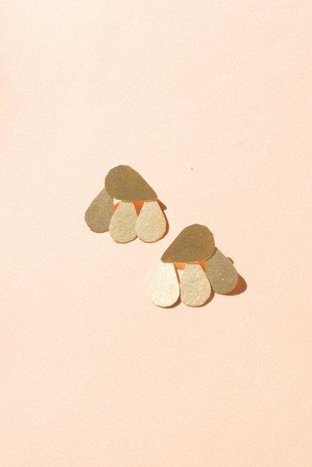 Annie Costello Brown Raj Mini Earrings
