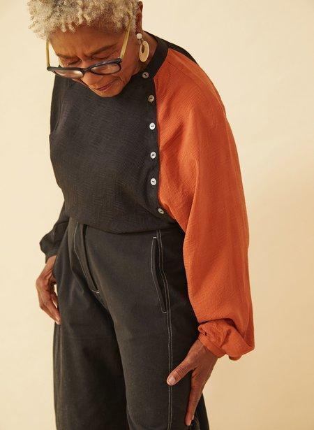 Seek Collective Deva Shirt - black/rust