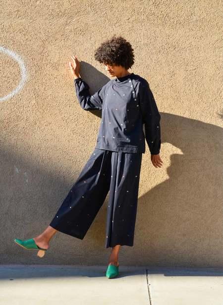 Seek Collective Deva Shirt - black sierra triangles