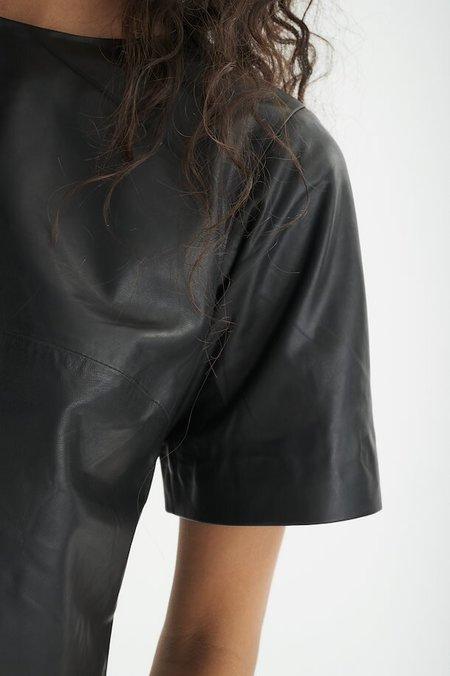 INWEAR Jaylee Leather Top