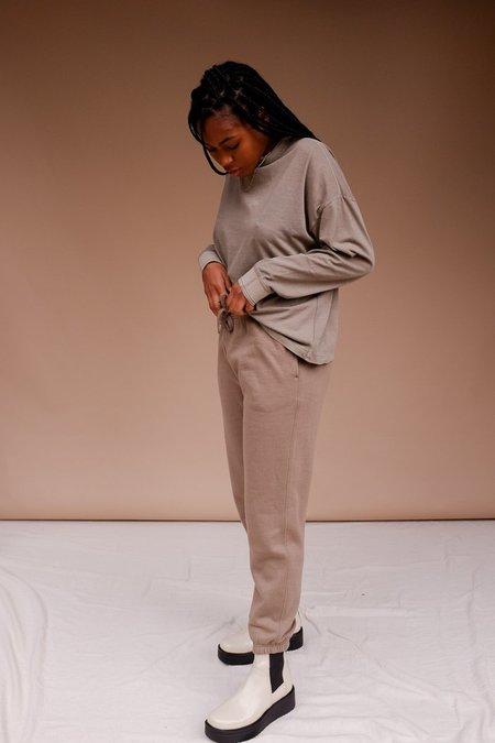 Richer Poorer Fleece Jogger Sweats - Warm Grey