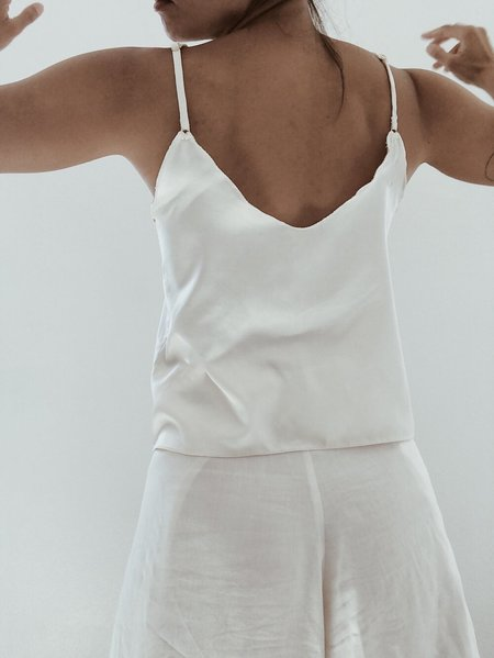 Petit Mioche organic peace silk camisole