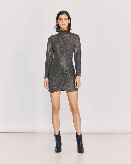 IRO Rasile Dress - black / gold