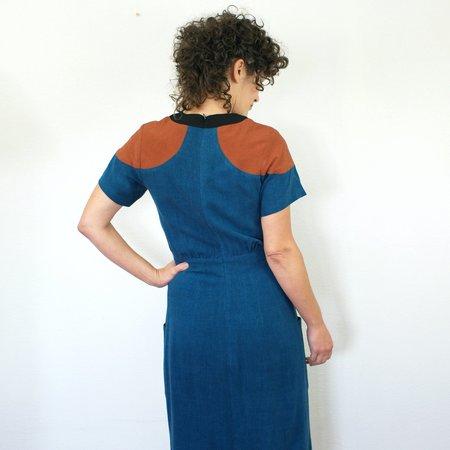 Jennifer Glasgow Cherish Dress - Teal