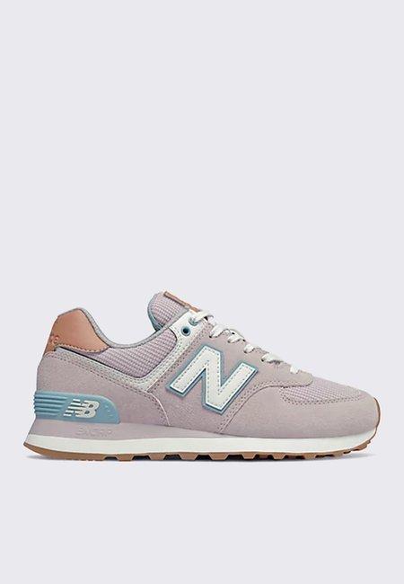 New Balance 574 sneaker - space pink/mahogany