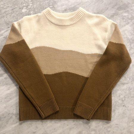 Veda Lina Alpaca Sweater - Chino Landscape