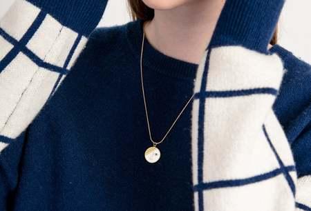 Matter Matters Mini Phase Necklace - White